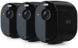 Arlo Essential Spotlight Camera – 1 Pack – Wireless Security, 1080p Video, Color Night Vision, 2 Way Audio, Wire-Free, Direct to WiFi No Hub Needed, Works with Alexa, White – VMC2030